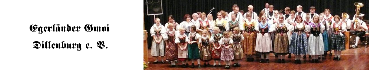 Egerländer Gmoi Dillenburg e. V.