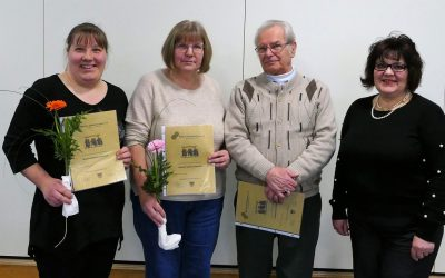 JHV:   Roland Uchazius und Alois Gintner seit 60 Jahren in der Gmoi